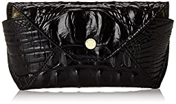 Brahmin Eyeglass Case Pouch, Black, One Size