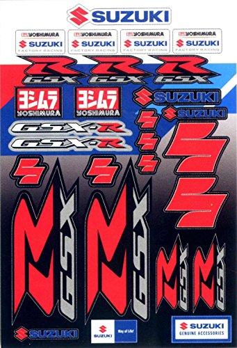Suzuki GSXR Gixxer Decal Shet 29 Decals in all 990A0-19202 (Gsxr Decals compare prices)