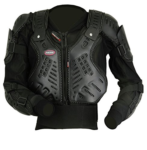 Body Armour Protection Jacket 4 Motocross Motorcycle Skating Snowboards Mountain Bike (L)