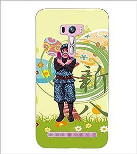 PrintDhaba Cartoon D-4615 Back Case Cover for ASUS ZENFONE SELFIE ZD551KL (Multi-Coloured)