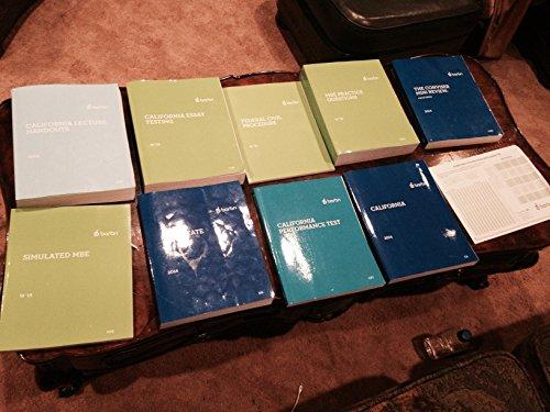 2015 - FOR JULY BAR- BARBRI CALIFORNIA BAR REVIEW SET + BONUSES PDF