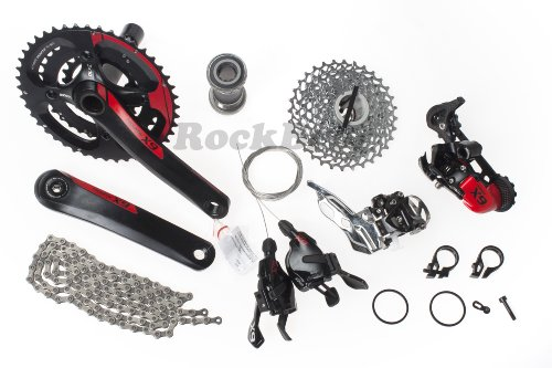 Sram X9 X.9 Mtb Groupset Group Set 10-Speed 7Pcs