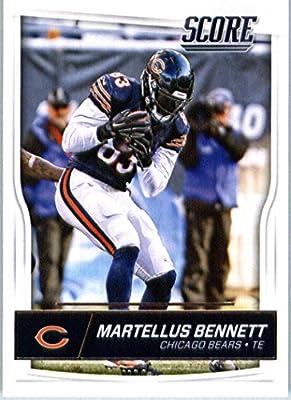 2016 Score #58 Martellus Bennett Chicago Bears Football Card