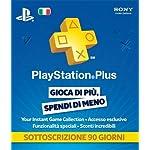 PS3 – PlayStation Plus Card: Sottoscrizione 90 Giorni