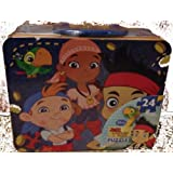 Disney 24 Pieces Jake And The Never Land Pirates With Storage Lunch Box