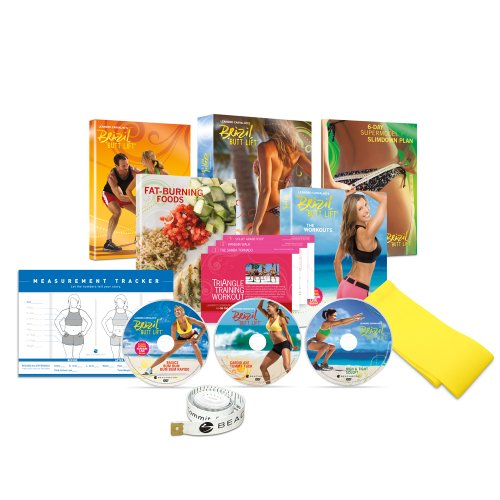 Review Brazil Butt Lift DVD Workout - Base Kit