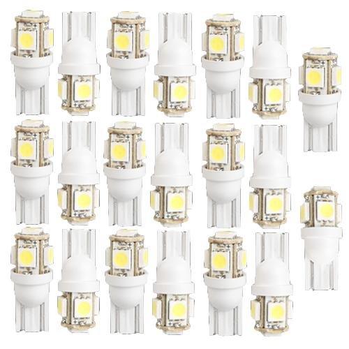 20x-t10-926-927-lampe-ampoule-5-5050-smd-led-blanc-pour-voiture
