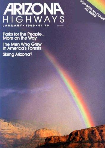 Arizona Highways Magazine January 1986 (62)