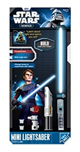 Uncle Milton Star Wars Science Mini Lightsaber Tech Lab