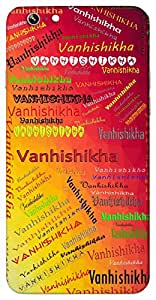 Vanhishikha (Popular Girl Name) Name & Sign Printed All over customize & Personalized!! Protective back cover for your Smart Phone : Apple iPhone 4/4S