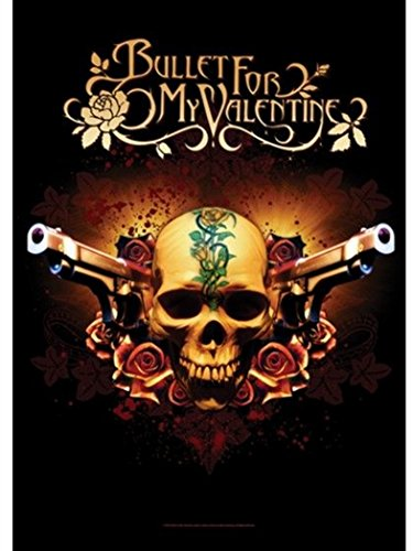 Bullet for my Valentine Poster Bandiera Skull