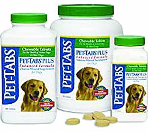 Pet-Tabs Plus For Dogs 180 Tabs