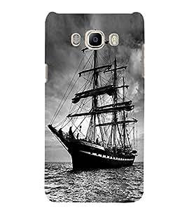 SAIL BOAT Designer Back Case Cover for Samsung Galaxy J7::Samsung Galaxy J7 J700F