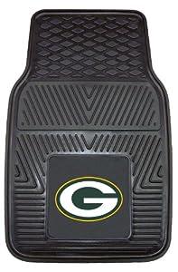 FANMATS NFL Green Bay Packers Vinyl Heavy Duty Vinyl Car Mat by Fanmats