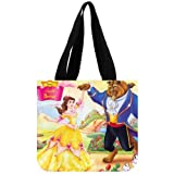Disney Classic Cartoon Characters Beauty and the Beast Custom Tote Bag 02