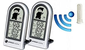 Ambient Weather WS-0211-2 Dual Zone 'Wendy the Weather Wizard' Wireless Weather Station For Kids