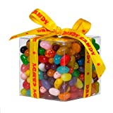 Jelly Belly Beans 50 Assorted Flavours Gift Cube - Great Birthday Gift For Anyone