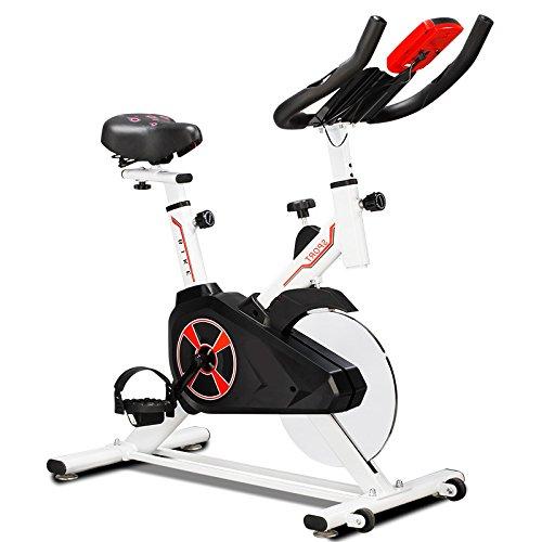 GymBear S305 折りたたみ式フィットネスバイク 自宅で気軽に本格トレーニング コンパクト メーター付 ペダル ローラー 負荷8段階調節タブレット対応可 マグネティックバイク エクササイザ