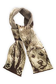 Green 3 Apparel Recycled Doggie Scarf (Brown)