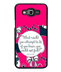 printtech Cool Quotes Life Back Case Cover for Samsung Galaxy Grand 3 G720::Samsung Galaxy Grand Max G720