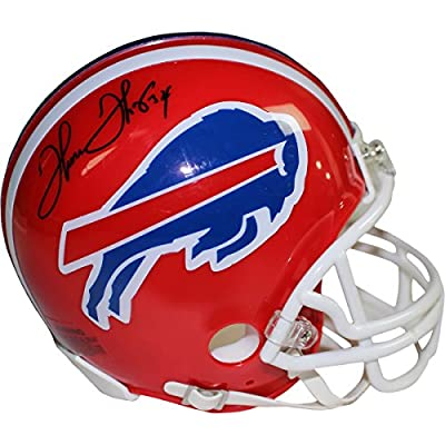 Thurman Thomas Autographed Buffalo Bills Red Mini Helmet