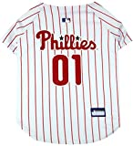Pets First MLB Philadelphia Phillies Dog Jersey, Small