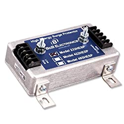 RS-232 Hi-energy Surge Protector with term Blks