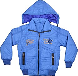 Mont Ford Unisex Kids Polyester Jacket (2002Blue_32, Blue, 32) [Apparel]