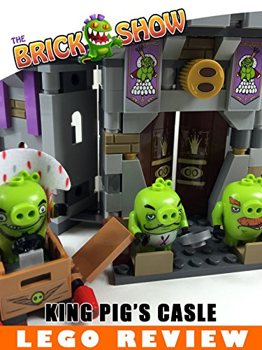 LEGO Angry Birds King Pig's Castle Review (75826)