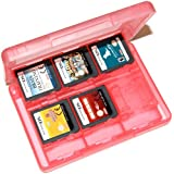Assecure 3DS game card holder storage case (Pink) 24 in 1 box for 3DS, 3DS XL, DSi, DSi XL, DS Lite & DS