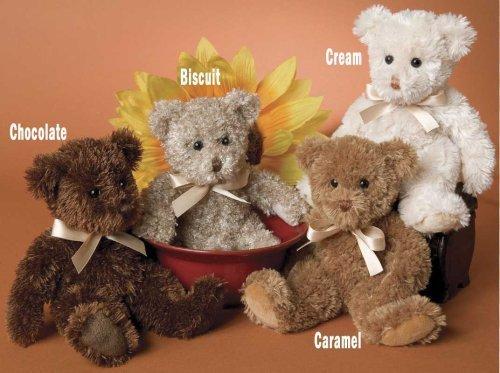 Fuzzy Caramel Bear - 1