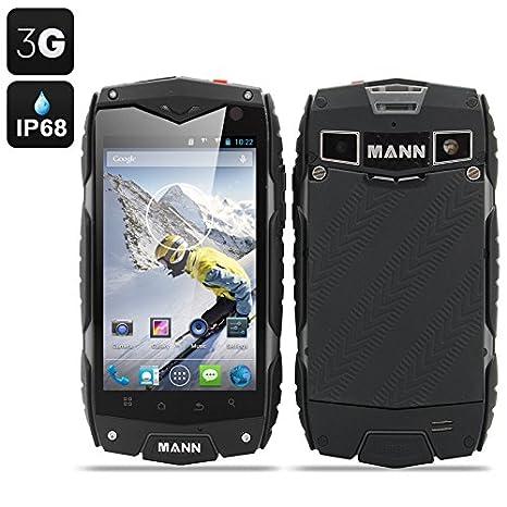 MANN ZUG 3 - Smartphone Android 4.3 / Écran 4 pouces / Résistant à l'eau, aux chocs, à la poussière / Gris*