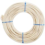 Commonwealth Basket Round Reed #5 3-1/4mm 1-Pound Coil, Approximately 360-Feet
