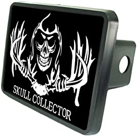 Skull Collector Custom Hitch Cover from Redeye Laserworks
