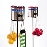 Outdoor Garden Beverage Holder Stakes with 2 Hooks, 2-Pack