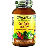 MegaFood - One Daily Iron Free, Supports Optimum Health & Well-being, 90 Tablets (Premium Packaging)