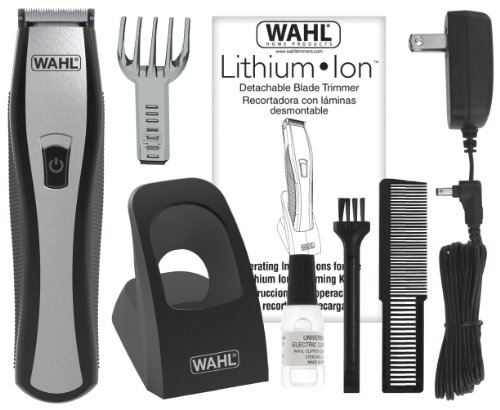 wahl lithium ion beard stubble trimmer 9867 11street malaysia styl. Black Bedroom Furniture Sets. Home Design Ideas