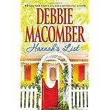 Hannah's List (A Blossom Street Novel Book 7) ~ Debbie Macomber