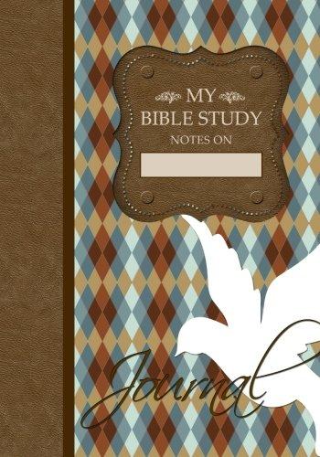 My Bible Study Journal: Argyle Pattern Edition - (Brown) (My Bible Study Journal Notebooks)