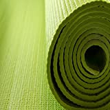Planetr Rubber Yoga Mat (Green)