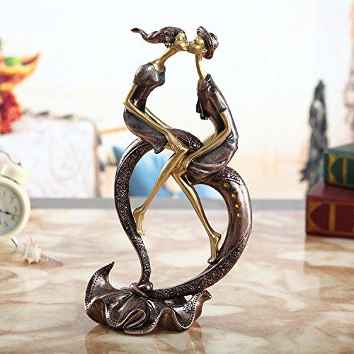 luyemen-las-decoraciones-caseras-continental-resina-ceramica-columpio-chic-parejas-salon-proceso-cre