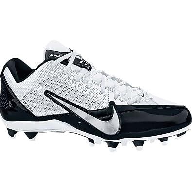 Nike ALPHA PRO TD 579545- 100 WHITE BLACK  METALLIC SILVER by Nike