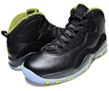 (ナイキ) NIKE AIR JORDAN 10 RETRO blk/vnm grn-cl gry-anthrct 26.5cm:US8h [並行輸入品]