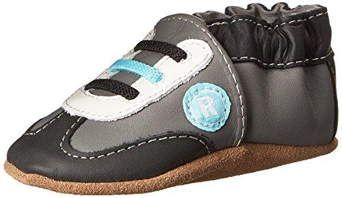 Robeez All Star Rodney Sneaker (Infant), Grey, 12-18 Months M Infant front-159764