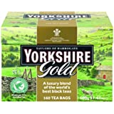 Taylors of Harrogate, Yorkshire Gold Tea, 160-Count Tea Bags