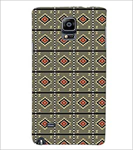 PrintDhaba Pattern D-5217 Back Case Cover for SAMSUNG GALAXY NOTE 2 (Multi-Coloured)