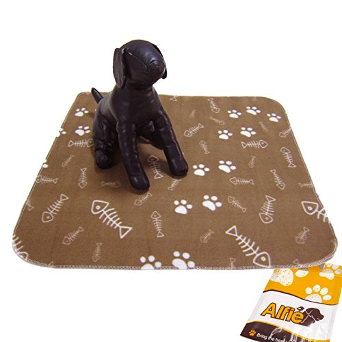 Alfie Pet By Petoga Couture - Molly Fleece Blanket For Dogs And Cats - Color: Brown, Size: M