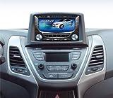 JyCustom 7 inch GPS Front Fascia Integrated 7-pc Set For 2014 Hyundai Elantra : New Avante