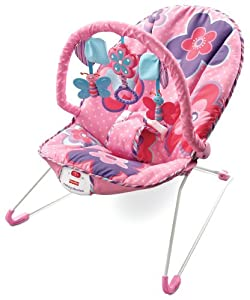 Fisher Price Pink Petals Bouncer Amazon Co Uk Baby