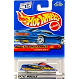 2000 - Mattel - Hot Wheels - Kung Fu Force Series #3 Of 4 - Shadow Jet II (Blue) Dragon Style Kung F